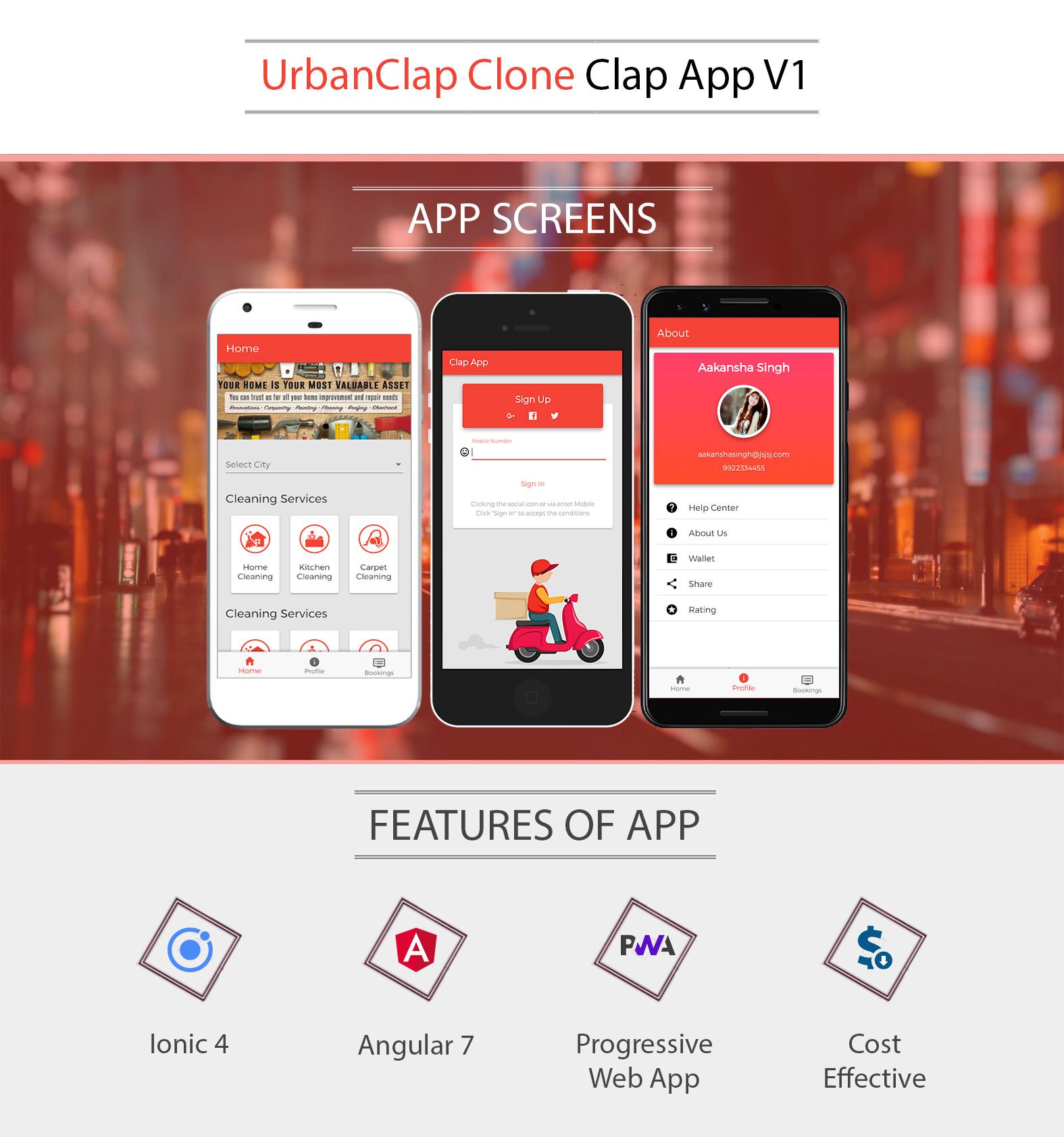 iThemes Vidhema | Ionic 4 & Angular 7 Urbanclap V1 App