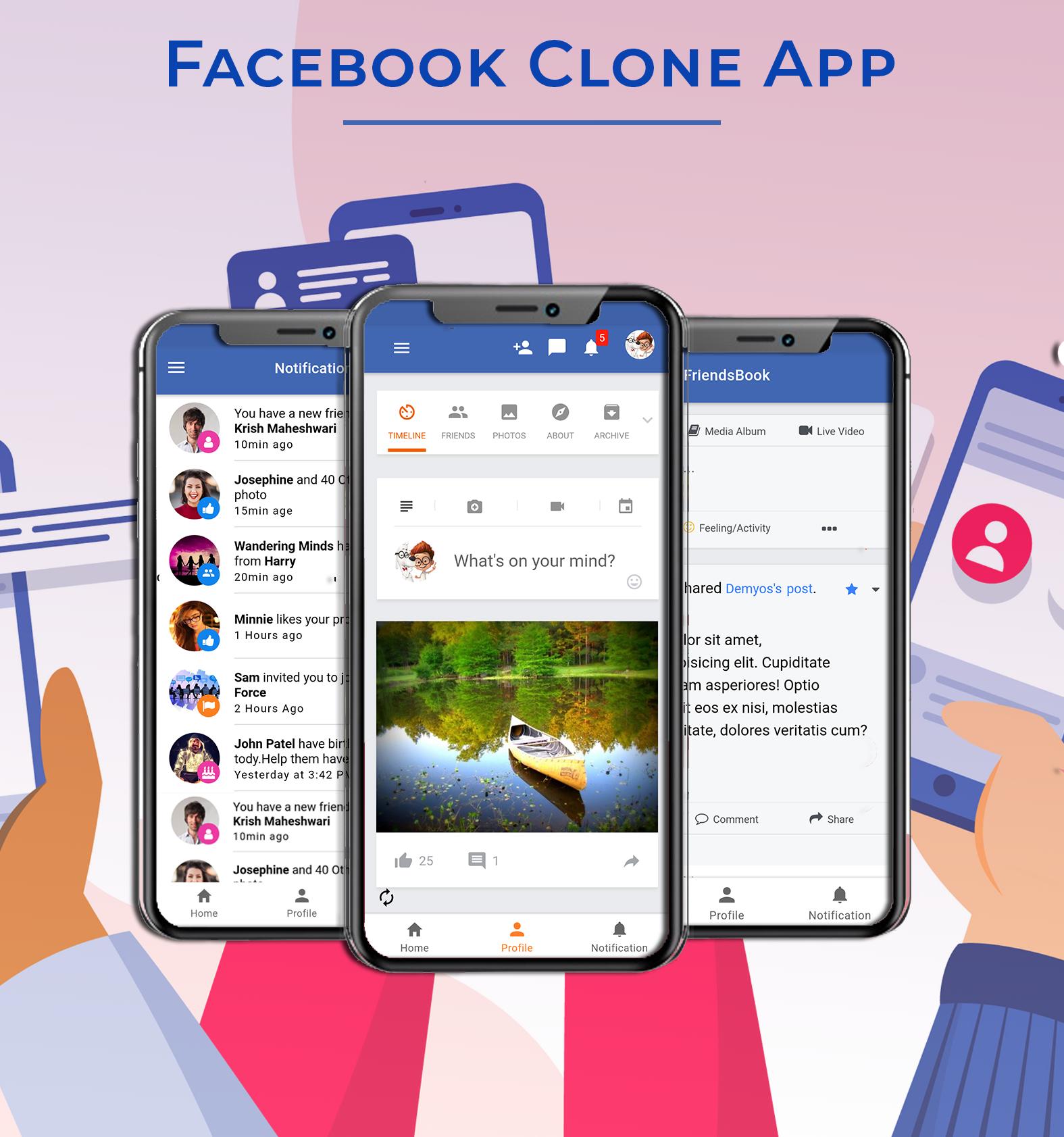 Facebook Clone App